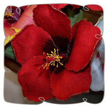 Embroidershoppe | Dream Embroidery, 3D flower, Iron on Patches
